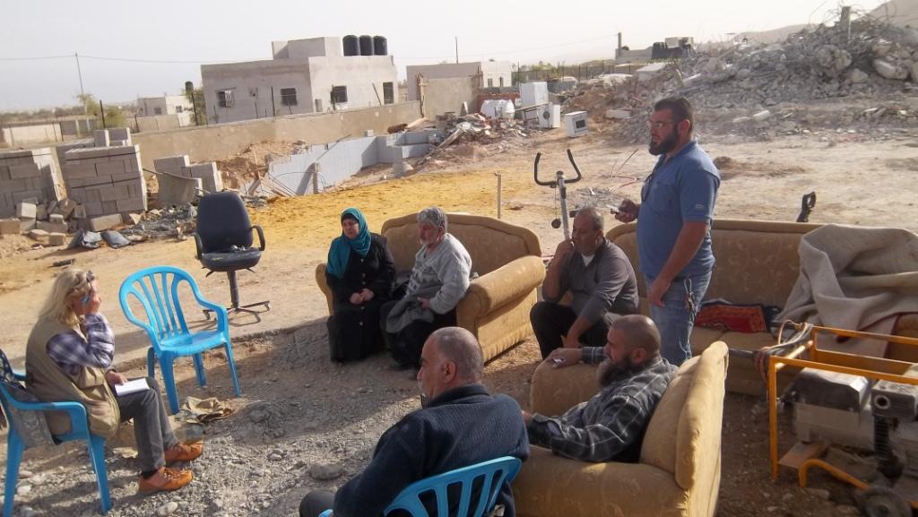151111 Al Qasab Jericho House demolitions photo by Eduardo Minossi, EA