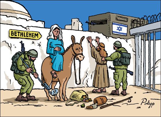 bethlehem-cartoon-mary-joseph-israeli-soldiers
