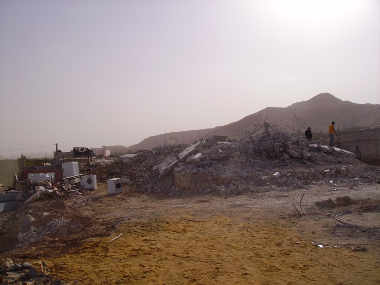 Demolitions near Jericho, 2011