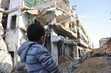 post-traumatic stress in gaza